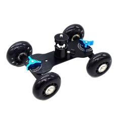 Desktop Camera Video Mini Wheels Rail Rolling Track Slider Car Skate Glide – intl