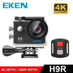Eken H9R Action Camera Wide Angle 4K Ultra HD with Remote 2.0″ Display Black