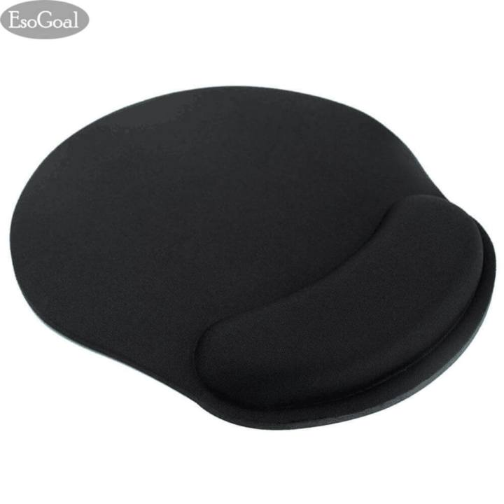 EsoGoal Mouse Wrist Rest Mice Pad Ergonomic Support for Computer PC Laptop (Black) - intl