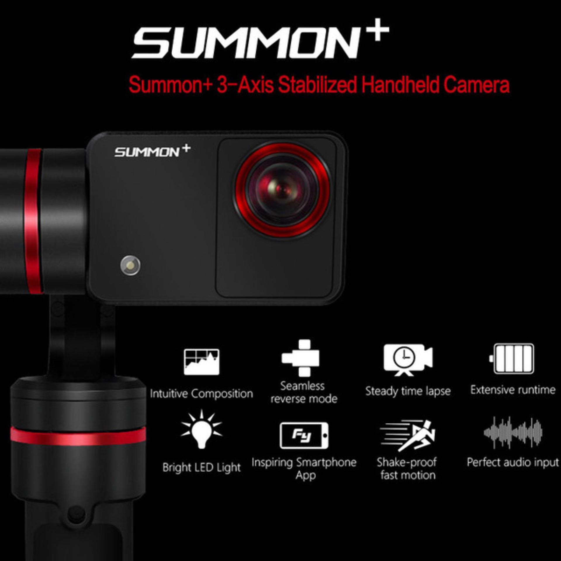 Feiyu Summon+ 4K Camera with 3-Axis Handheld Gimbal