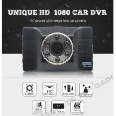 FH12 SINGLE CAR CAMERA 1080P W 170 DEGREE STRONG NIGHT VISION DASH CAM G-SENSOR