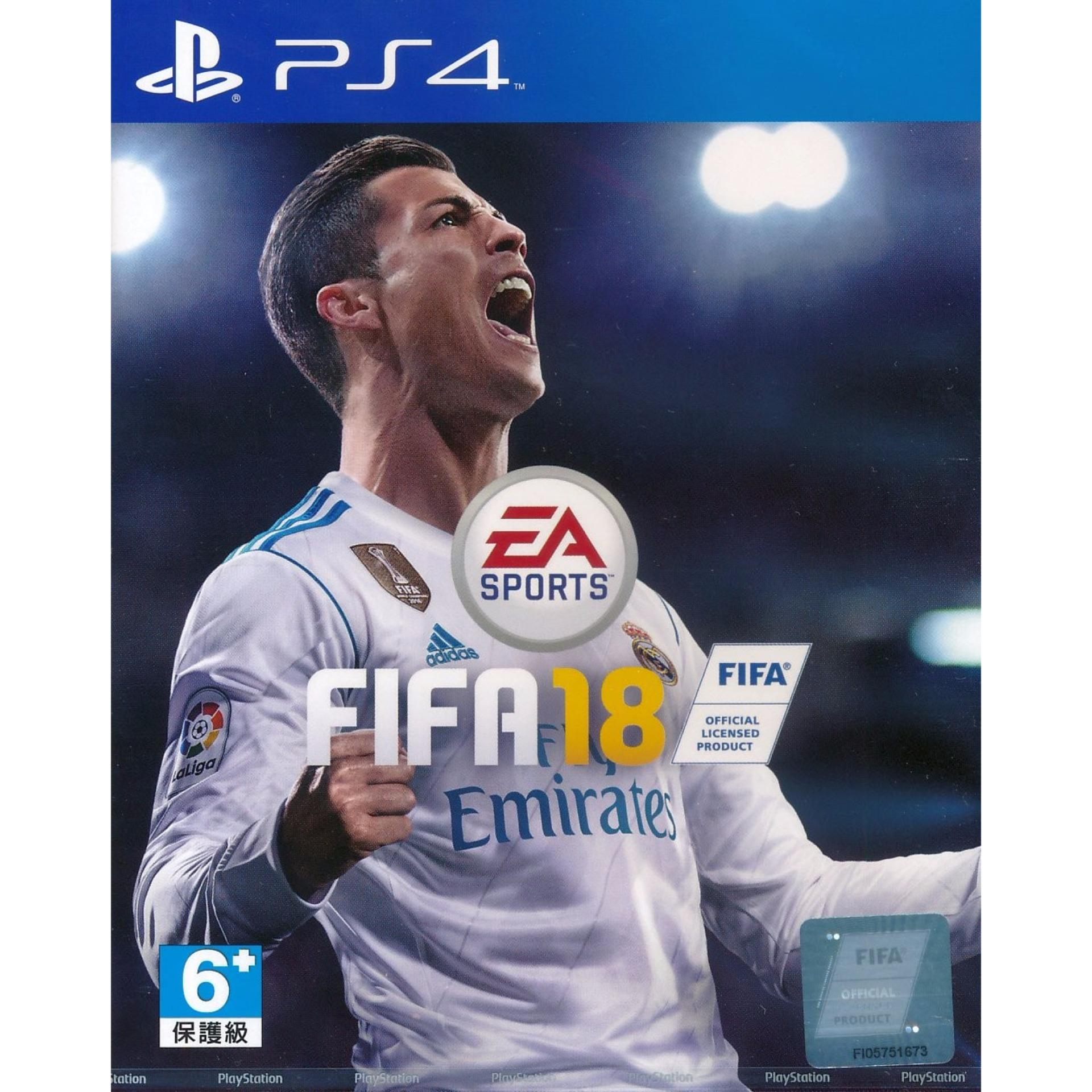 FIFA 18 – PS4 ( Region 3 local stock)