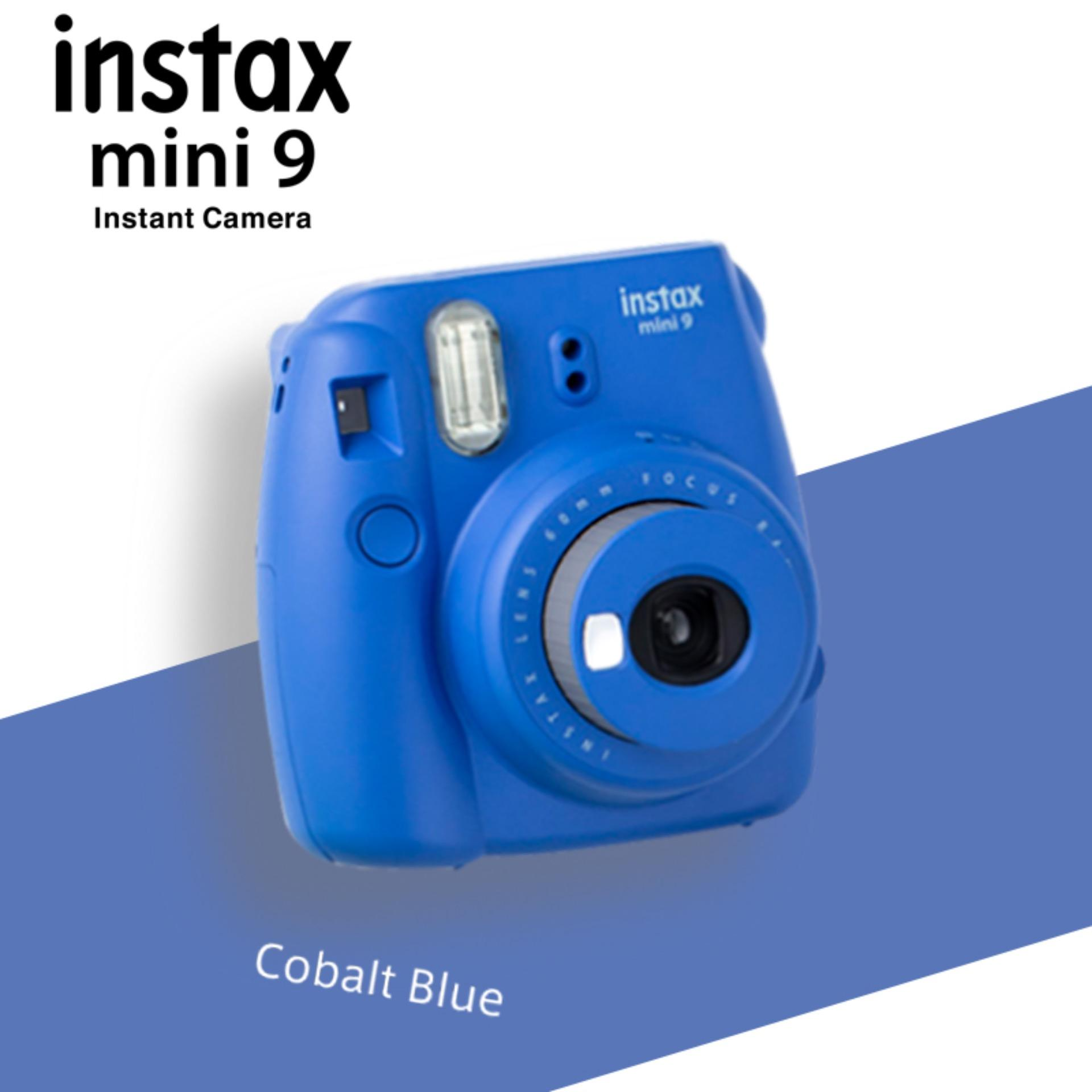 Fujifilm Instax Mini 9 Instant Camera – Cobalt Blue