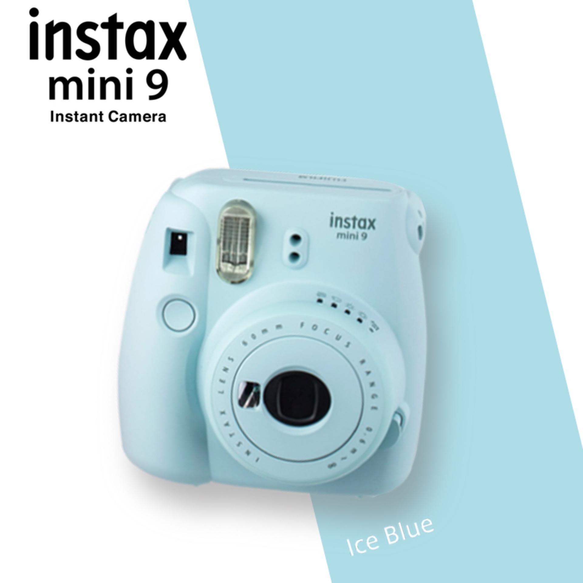 Fujifilm Instax Mini 9 Instant Camera – Ice Blue
