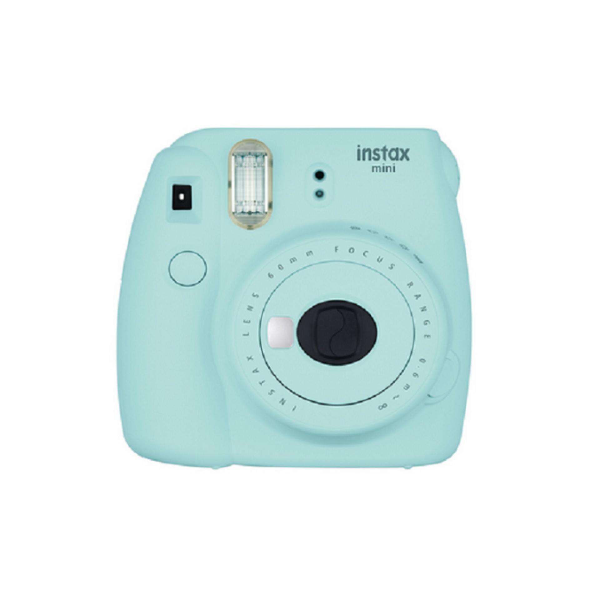 Fujifilm Instax Mini 9 Instant Camera Ice Blue + Free Bundle Gifts