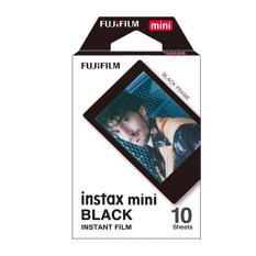 Fujifilm Instax Mini Black Instant Films – 10 Sheets