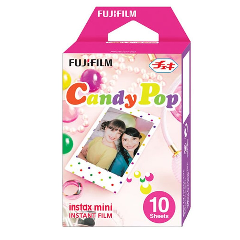 Fujifilm Instax Mini Candypop Instant Films – 10 Sheets