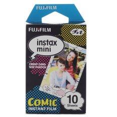 Fujifilm Instax Mini Comic Instant Films – 10 Sheets
