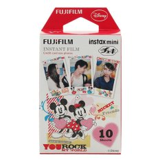 "Fujifilm Instax Mini Film Mickey and Friends ""You Rock My World"" – 10 sheets"