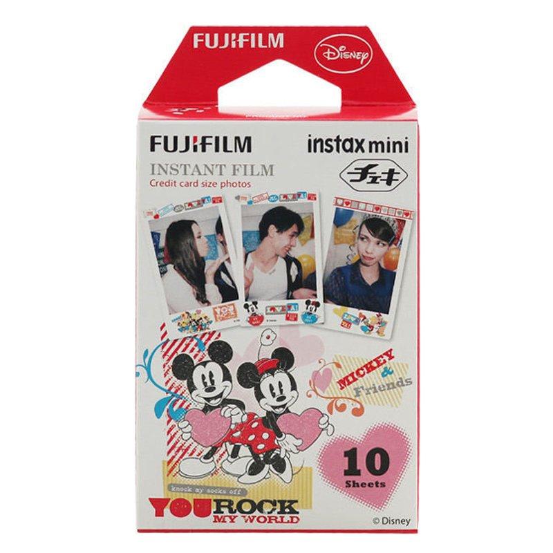 "Fujifilm Instax Mini Film Mickey and Friends ""You Rock My World"" – 10 sheets"