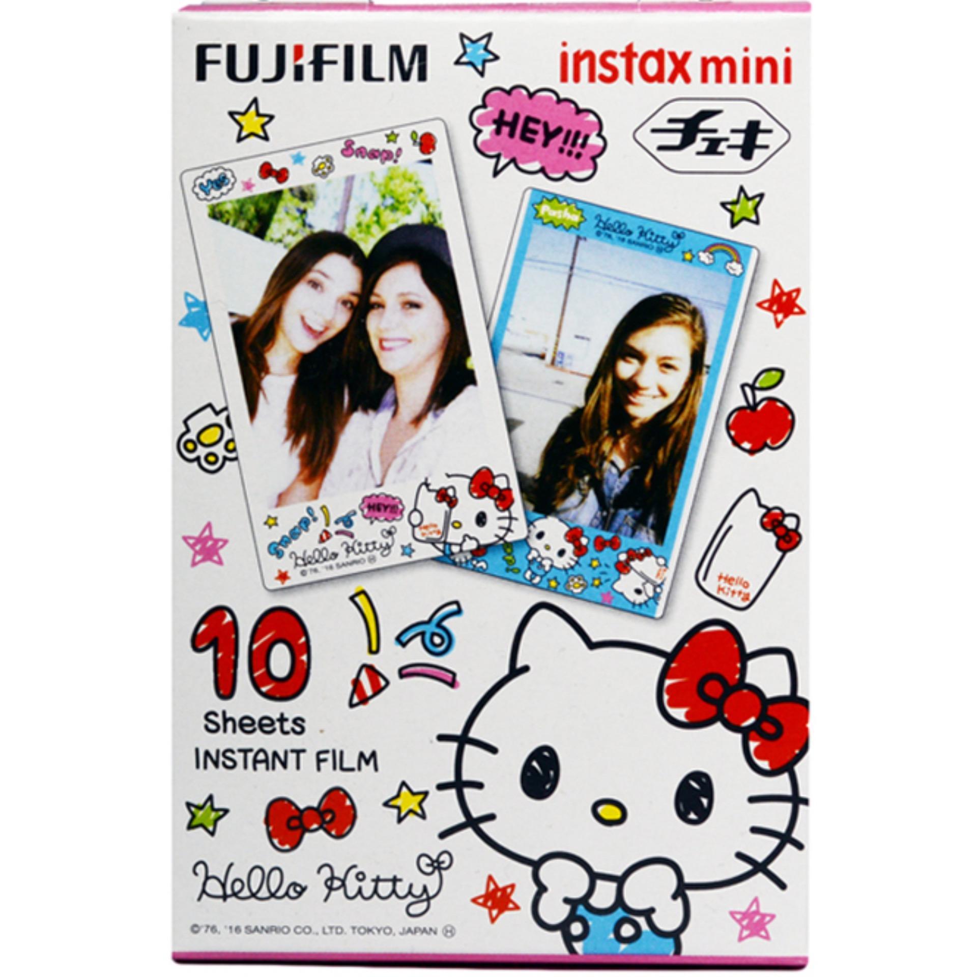 Fujifilm Instax Mini Hello Kitty Doddle Instant Films – 10 Sheets