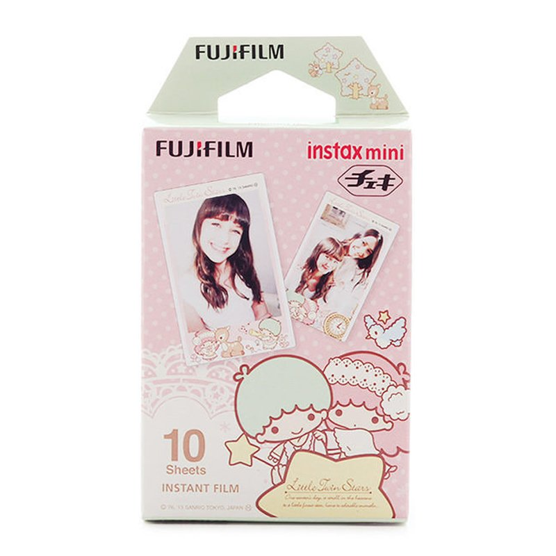 Fujifilm Instax Mini Little Twin Star Instant Films – 10 Sheets