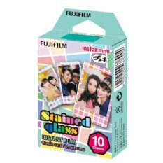 Fujifilm Instax Mini Stained Glass Instant Films – 10 Sheets
