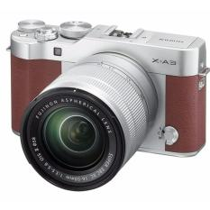 Fujifilm X-A3 24.2 M Mirrorless Camera XC16-50mm F3.5-5.6 II Lens Kit (Brown) export(Brown)