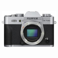 Fujifilm X-T20 Mirrorless Digital Camera Body Only (Silver)