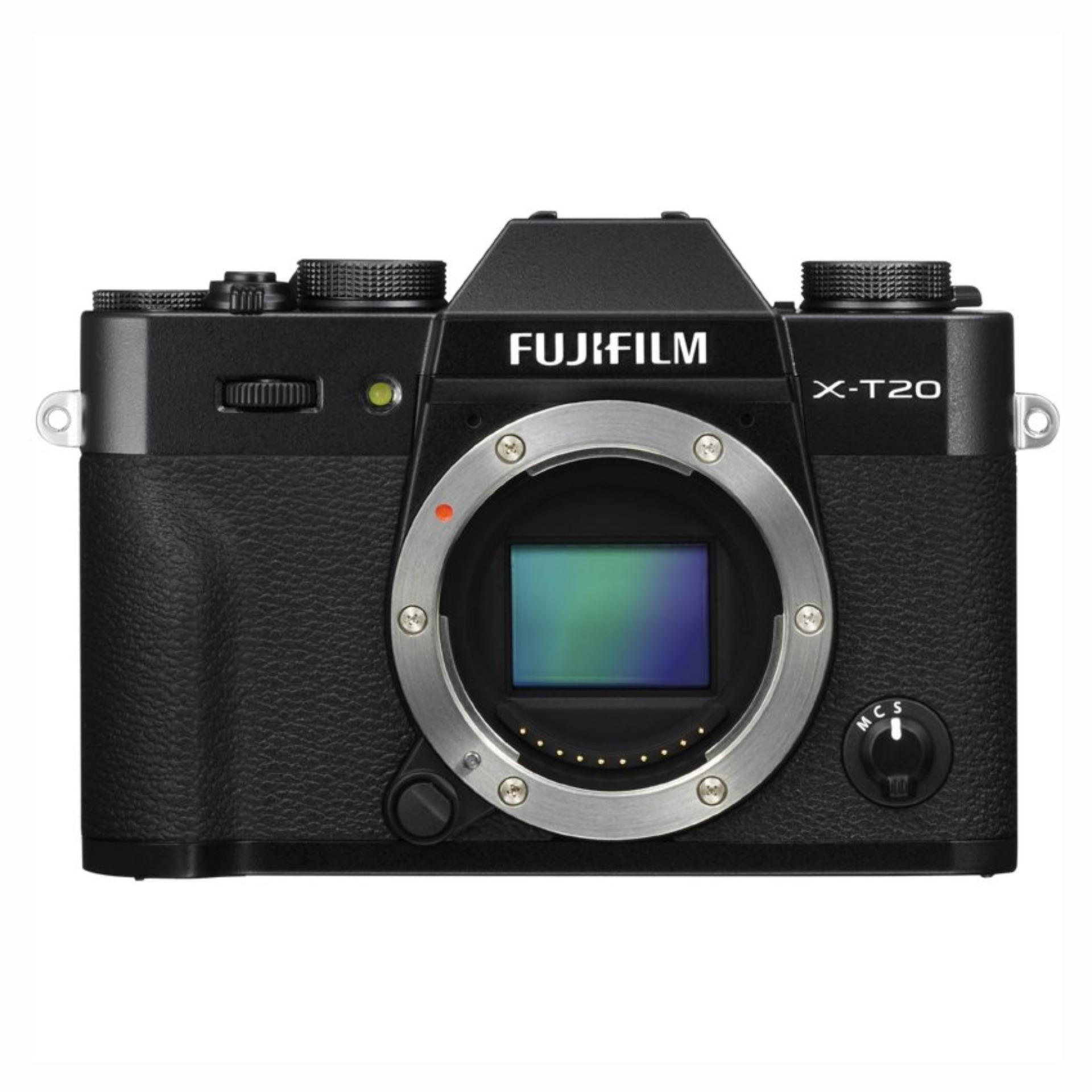Fujifilm X-T20 Mirrorless Digital Camera Body Only (Black)