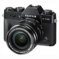 Fujifilm X-T20 (Black) Mirrorless Digital Camera + Fujinon XF 18-55mm Lens