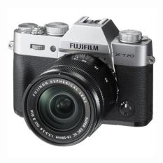 Fujifilm X-T20 (Silver) Mirrorless Digital Camera + Fujinon XC 16-50mm Lens