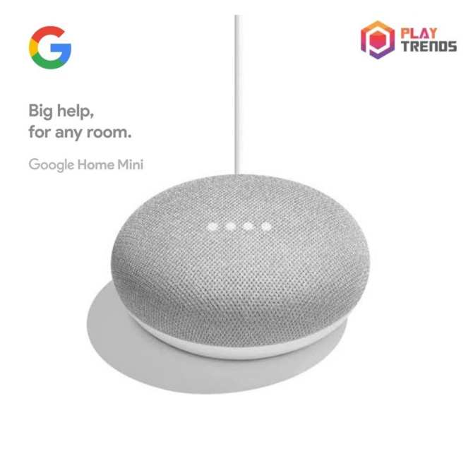 Official Local Google Home Mini - Charcoal Black/Chalk White/Coral Red - Lazada Birthday Promotion!