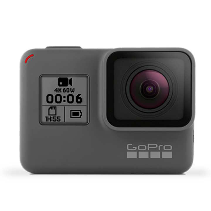 GoPro Hero 6 4k Action Camera Built-In New G1 Chip (Black) LOCAL WARRANTY