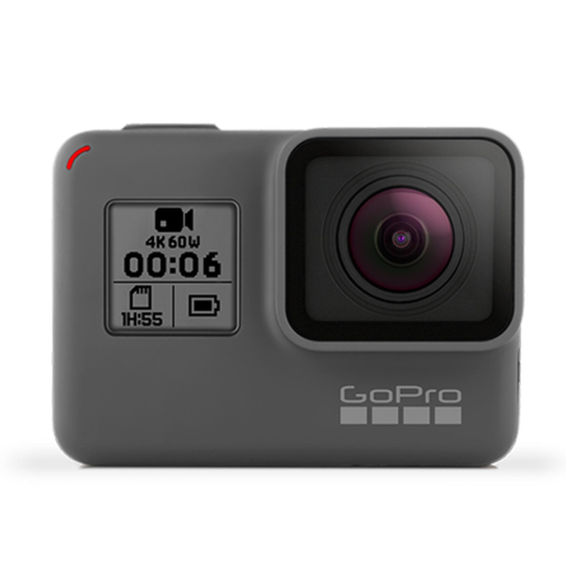 GoPro Hero 6 4k Action Camera Built-In New G1 Chip (Black) LOCAL WARRANTY
