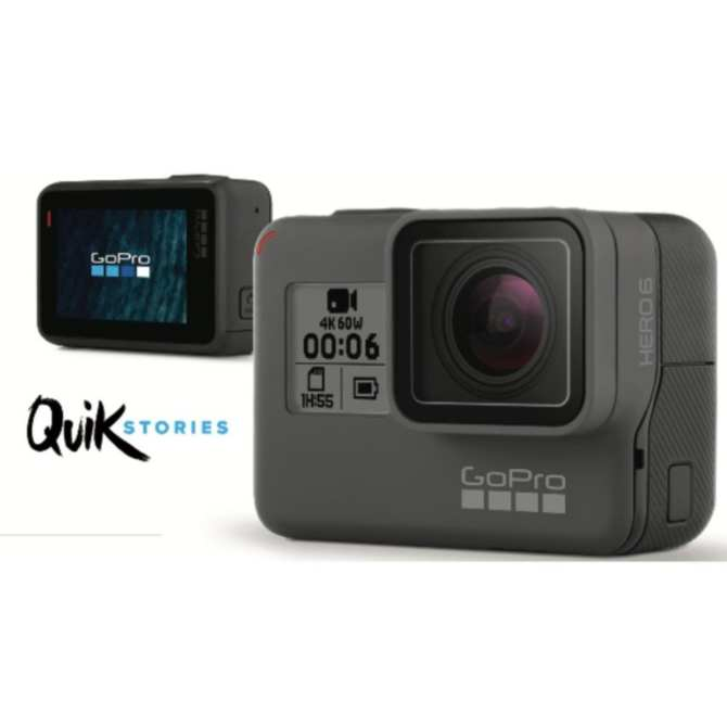 GoPro Hero 6 Black (1year International and Local Warranty)