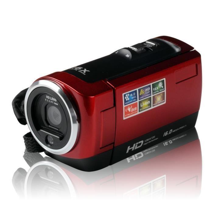 """HDV-107 Digital Video Camcorder Camera HD 720P 16MP DVR 2.7"""" TFT Cameras Hot – intl"""