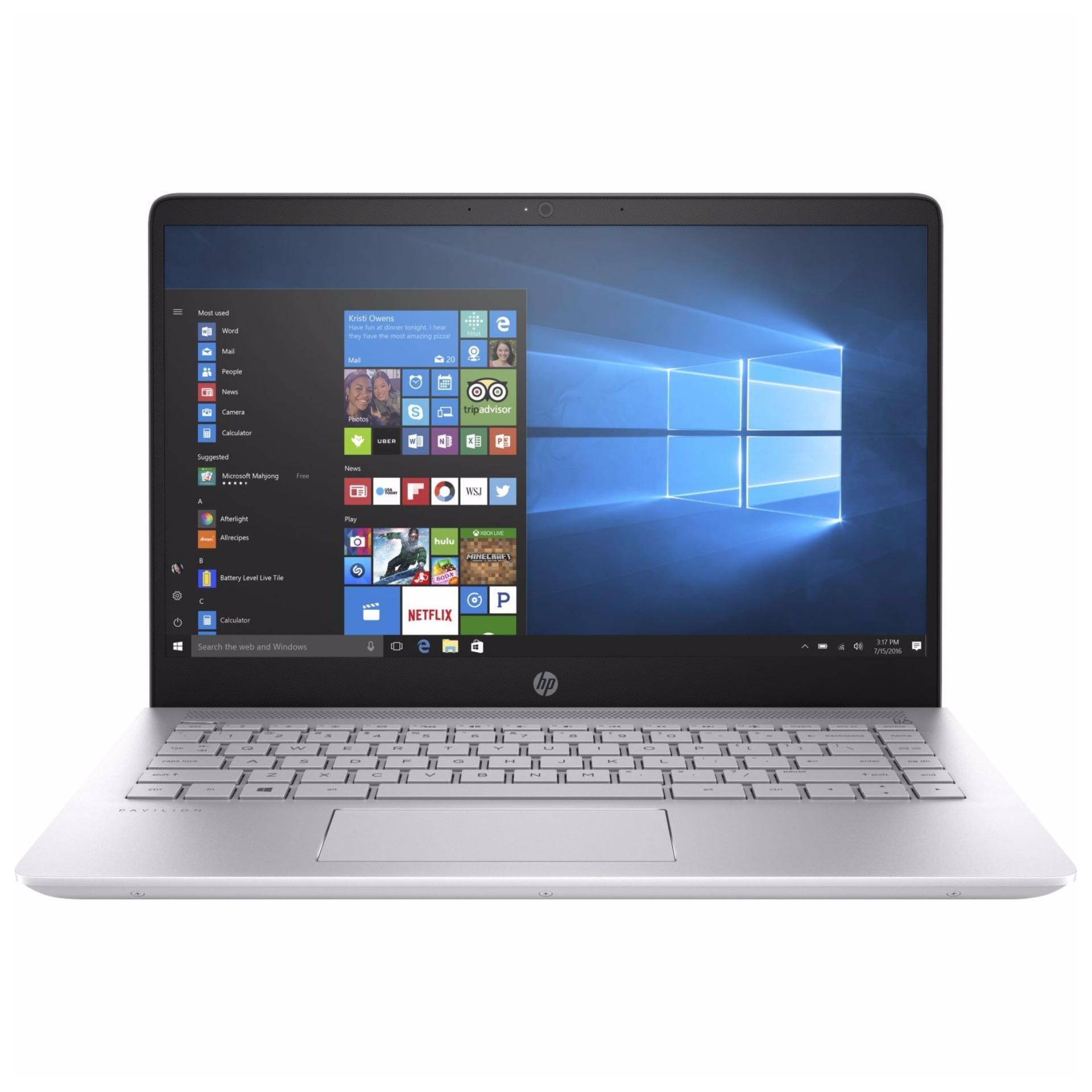 HP Pavilion Laptop 15-ck038TX i7-8550U Windows 10 Home 64 15.6″ FHD 8 GB DDR4-2400 SDRAM (1 x 8 GB); 1 TB 5400 rpm SATA PLUS 128 GB M.2 SSD NVIDIA® GeForce® MX150 (2 GB GDDR5)