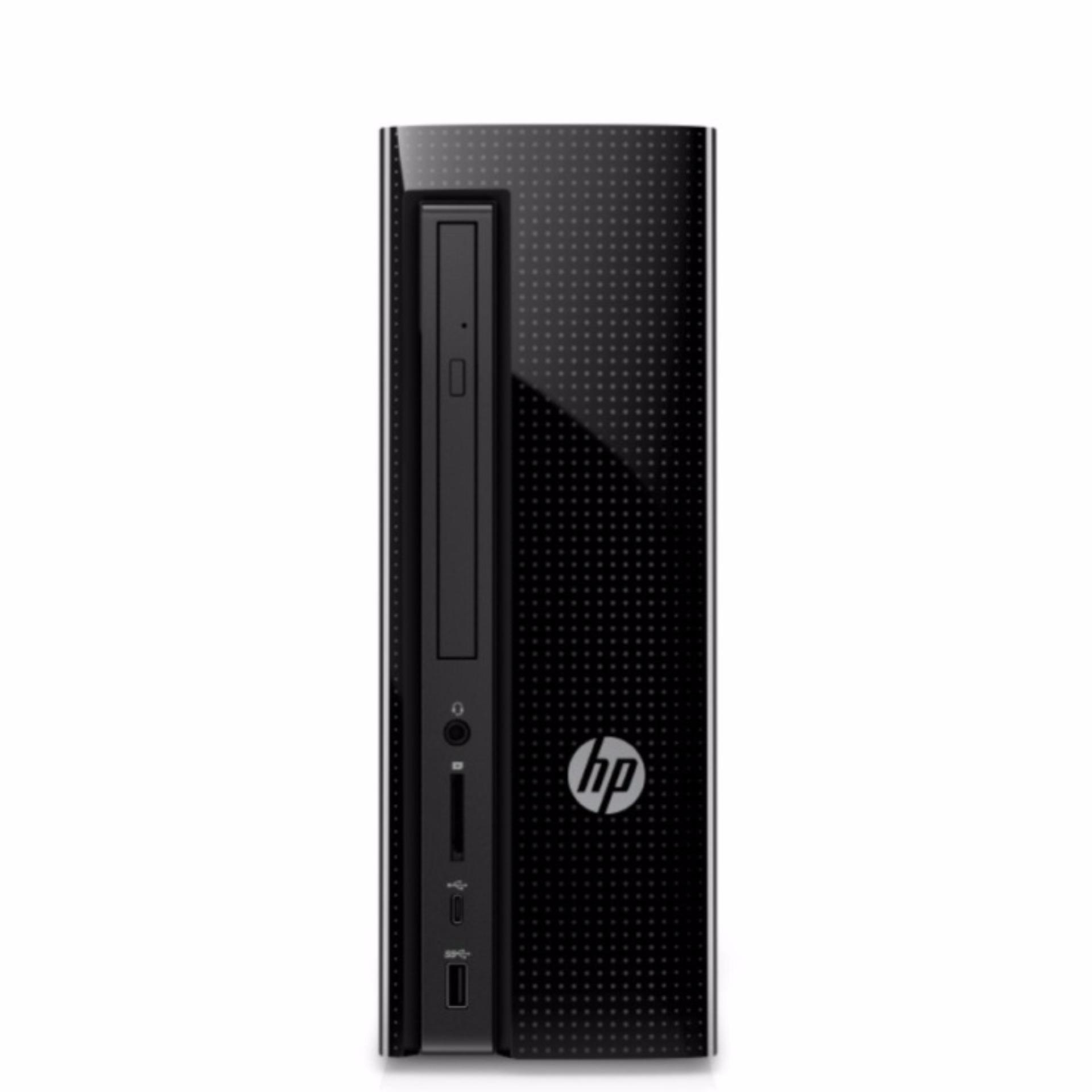 HP Slimline 270-p023d Intel® Core™ i7-7700T Processor (2.9 GHz, up to 3.8 GHz, 8 MB cache, 4 cores Windows 10 Home 8 GB DDR4-2400 SDRAM memory (1 x 8 GB) 128GB PCIe NVMe TLC SSD + 1TB 7200RPM 3.5 HDD