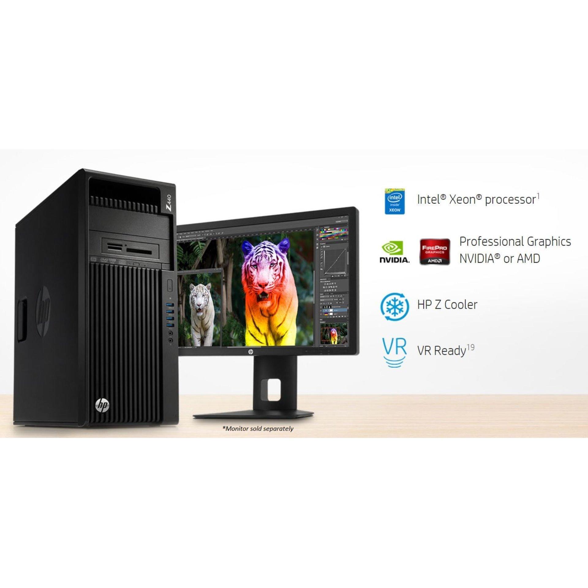 HP Z440 Workstation- Xeon E5-1620v4 3.5, 16GB,WIN10 PRO