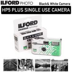 ILFORD HP5 PLUS SINGLE USE DISPOSABLE BlACK AND WHITE CAMERA