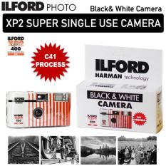 ILFORD XP2 SUPER SINGLE USE DISPOSABLE BlACK AND WHITE CAMERA