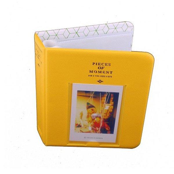 Instax Album Piece of Moment Album for Instax Mini Film (Yellow)