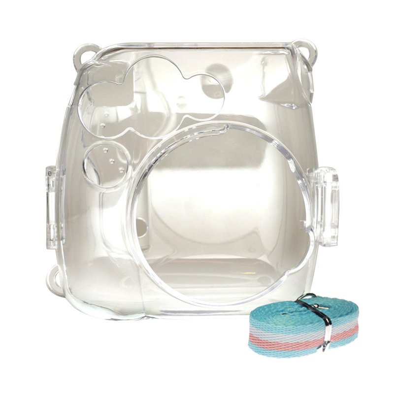 Instax mini 8 , 8+ , 9 Clear / Transparent Crystal Casing