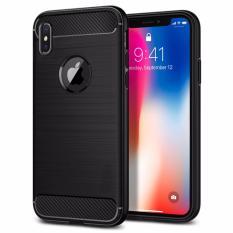 iPhone X/XR Carbon Fiber Armor Phone Casing