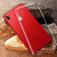 iPhone XS / X Transparent Crystal Clear TPU Case Casing Cover
