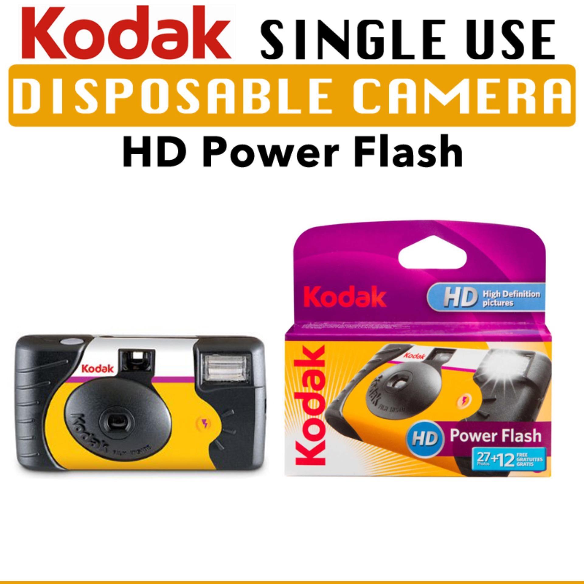 KODAK Power Flash Single Use Disposable Camera