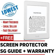 Latest 2017 Amazon Kindle Paperwhite 300 PPI + Screen Protector + SG Tutorial Guide + Warranty