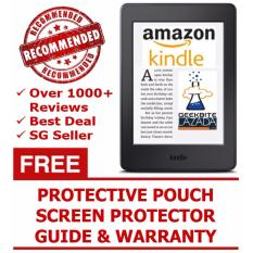 GeekBite Amazon Kindle 8th Gen Black + Kindle Premium Pouch + Screen Protector (Wifi/Special Offers)