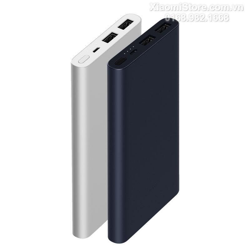 Latest New Xiaomi Mi Power Bank 2 10000mAh Upgraded with Dual USB Output Powerbanks Supports Two Way Quick Charge