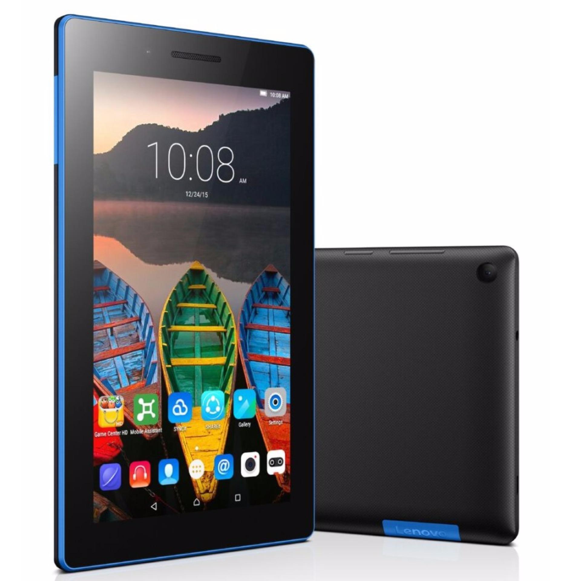 Lenovo Tab 7 Essential Tablet with 3G + WiFi (Black) – 16GB + 2GB (1 Year Warranty by Lenovo SG ) New 2018 Model