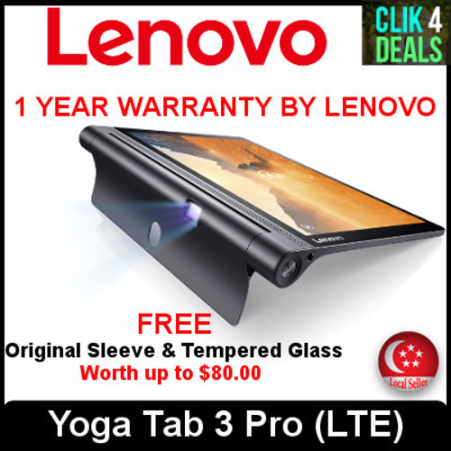 Lenovo Yoga Tab3 Pro Tablet / 10inch Display /Built-in Projector / 2+32GB / Refurbished Set w 1 month Warranty