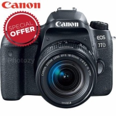 [Limited Offer] Canon EOS 77D + EF-S 18-55mm IS STM Lens