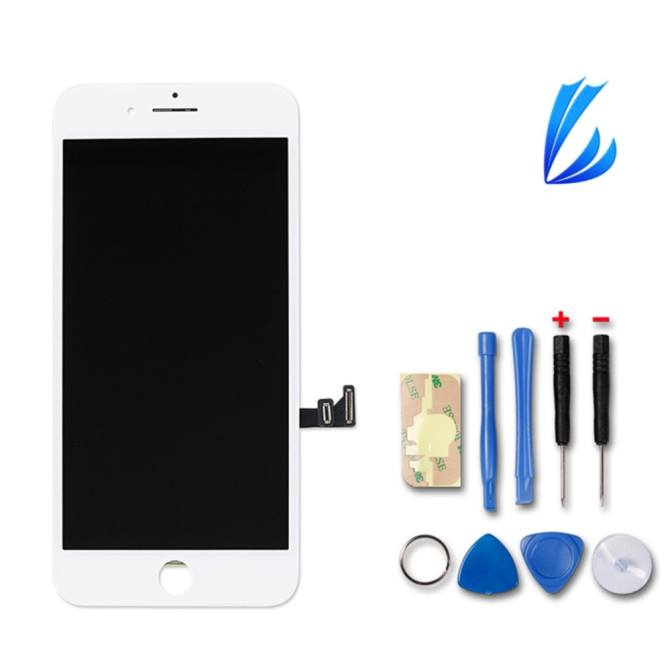 LL Trader Replacement for iphone 7 LCD Screen Touch Screen Front Glass Assembly with Free Tools for IPhone7 4.7 inch - intl