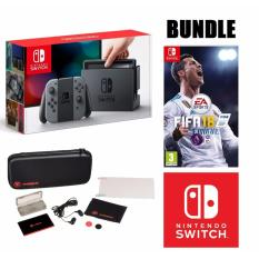 [Local 12 Months Warranty] Nintendo Switch FIFA 18 + Accessories Bundle