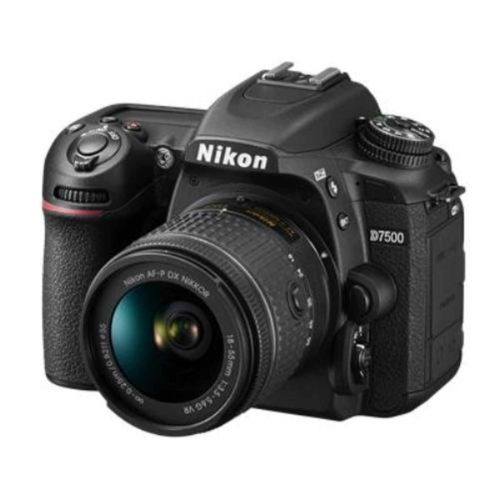 (Local) Nikon D7500 DSLR Camera with 18-55mm Lens + Cleaning Kit + Nikon Promotion (please note that price is after cashback)