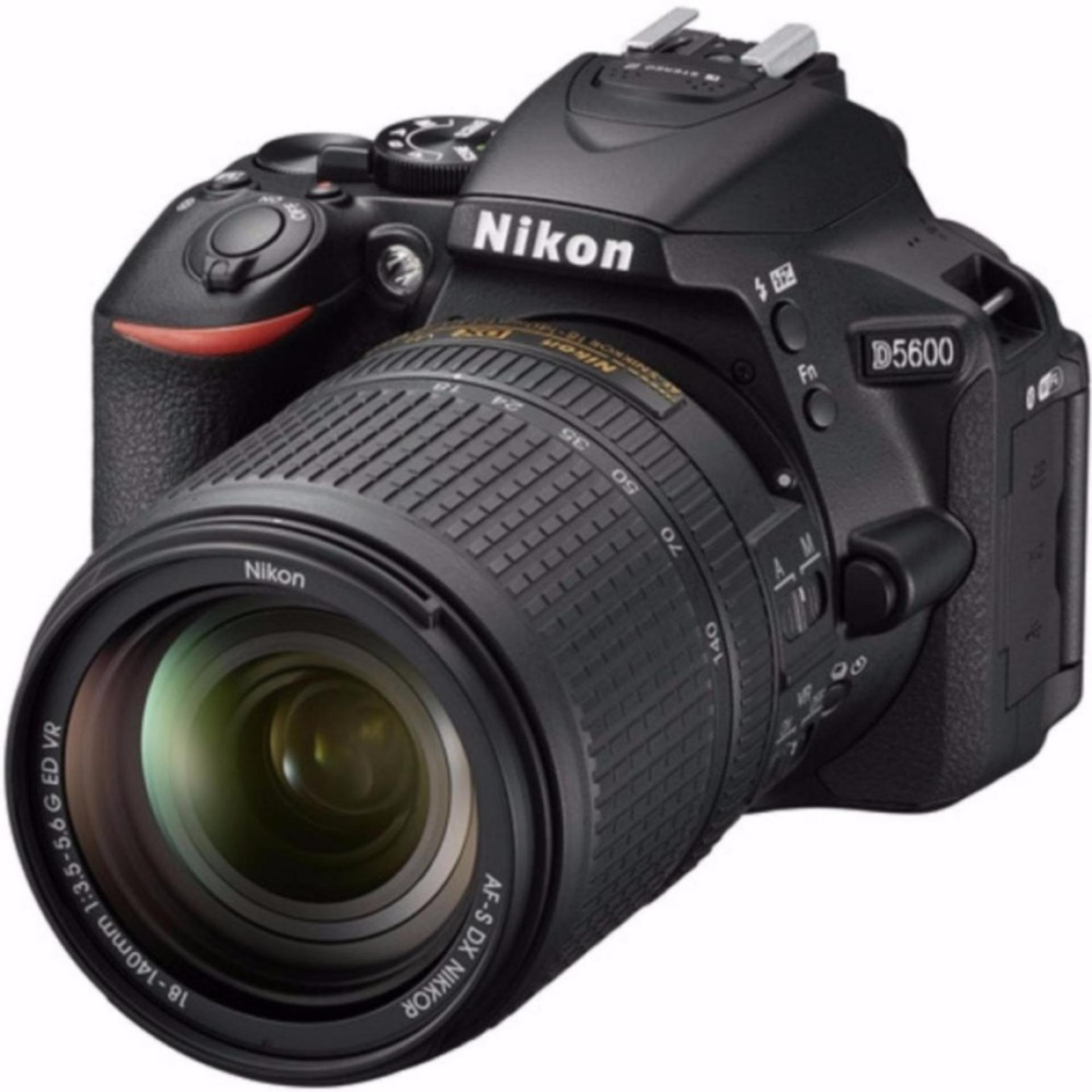 (Local Warranty) Nikon D5600 w/18-140 + Nikon Promotion (Please note that the price is after cashback)