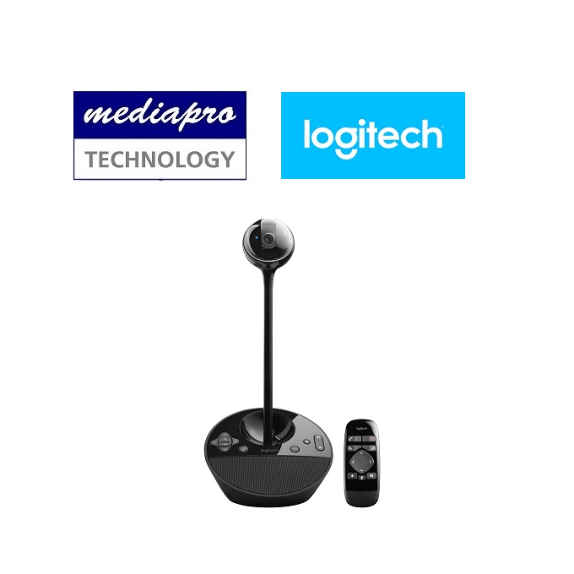 Logitech BCC950 ConferenceCam, Webcam, speakerphone, remote for groups of 1-4 people