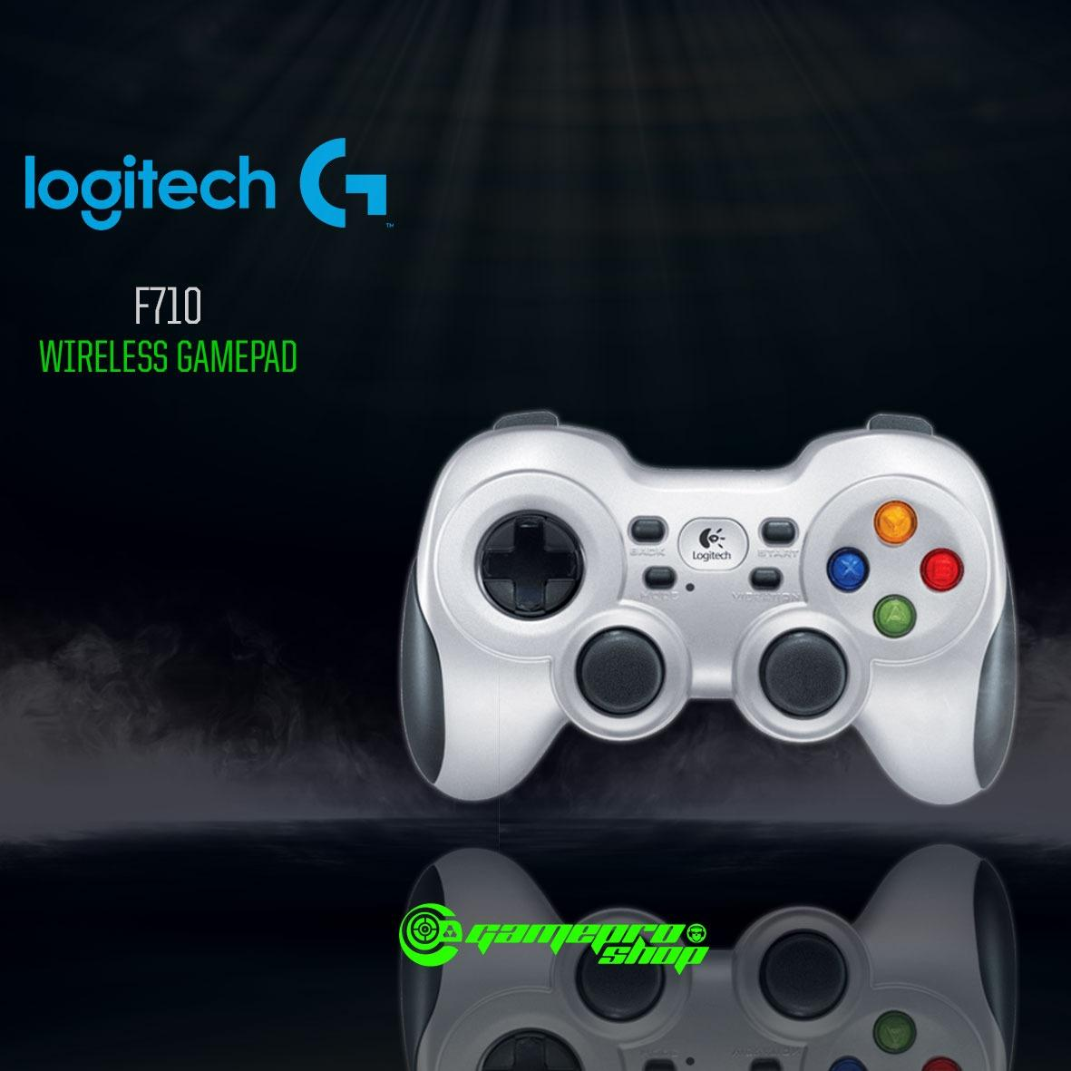 Logitech F710 Wireless Gamepad Gaming Controller *HAJI PROMO*