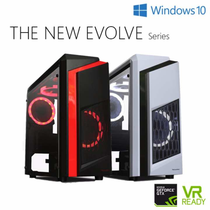 LZX EVOLVE S3 Gaming Desktop (i5-8G-1T-N1060-W10H)
